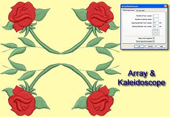 Rectangular Array kaleidoscope