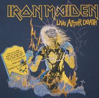 Iron Maiden embroidery